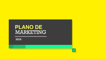 Vídeo template para plano de marketing