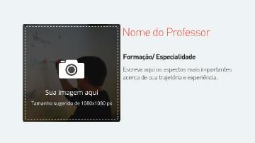 Video template para descrição de curso