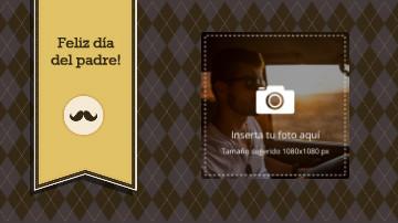 Video plantilla para el Día del Padre