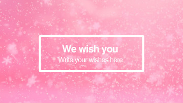 new year wishes video template wideo
