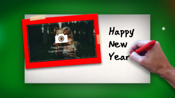 Christmas & New Years Eve Video e-Card