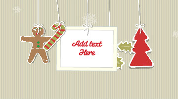 Christmas Greetings Video e-Card