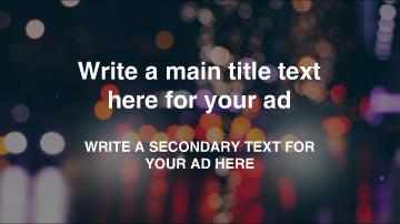 Facebook Ad Video Template