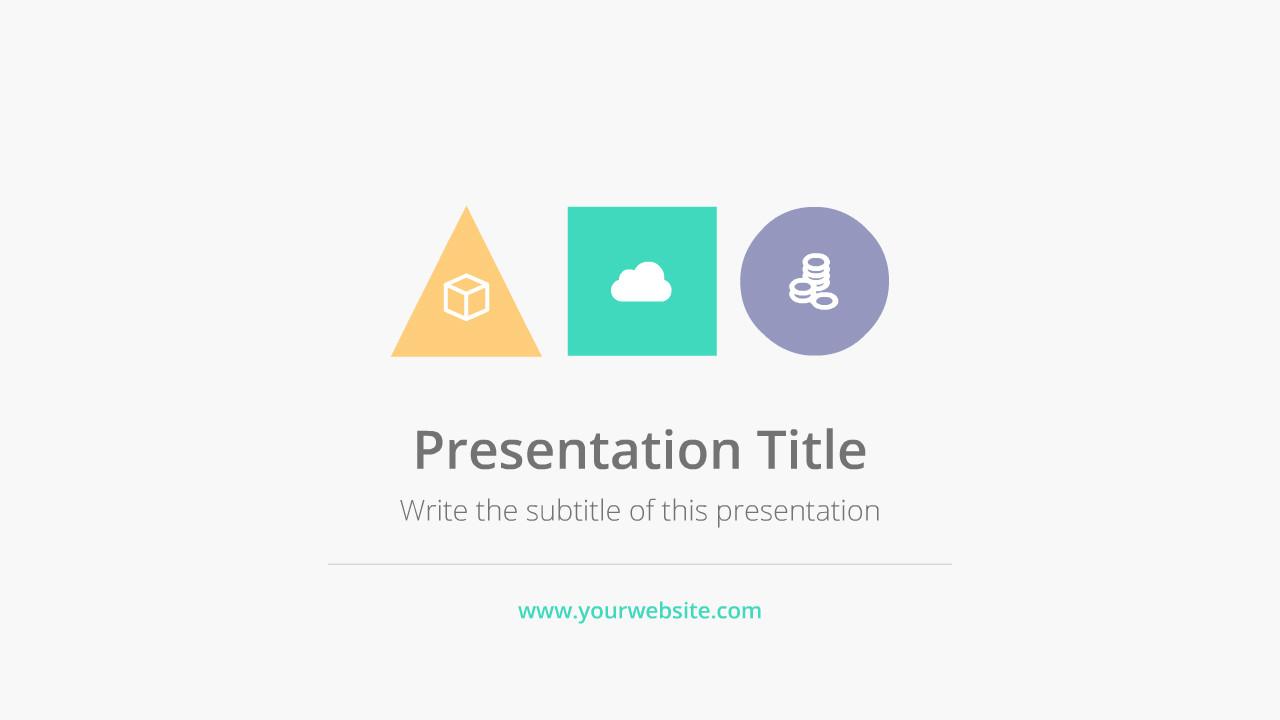 Flat Design Company Presentation