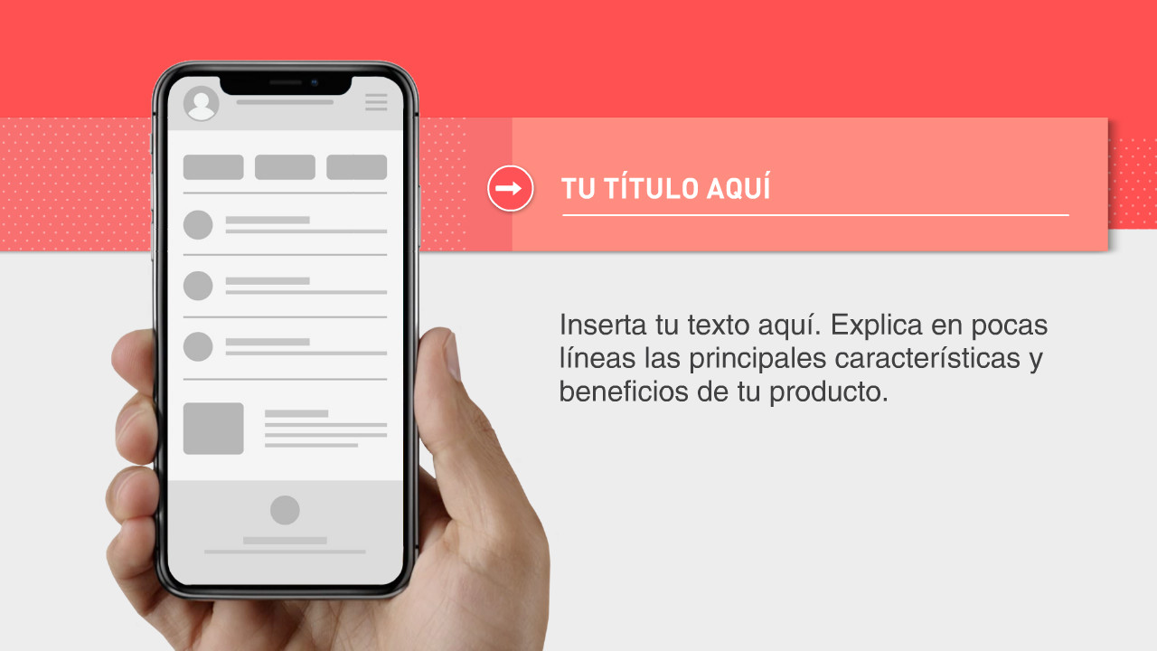 Iphone X App Video Plantilla