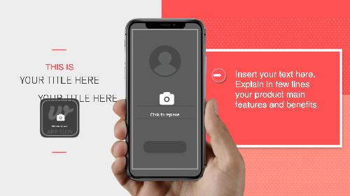 Iphone X App Video Template