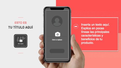 Iphone X App Video Plantilla